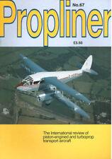 PROPLINERS 67 CARVAIR_AIR BRIDGE TO CANADA_ELAND_ALASKA DC-7C_CANADIAN CONVAIR
