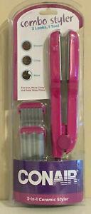 Conair 3-in-1 Ceramic Styler -- Model CS99W3N -- Pink