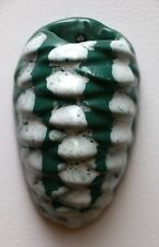 VINTAGE COITEUX QUEBEC POTTERY WALL POCKET 1973