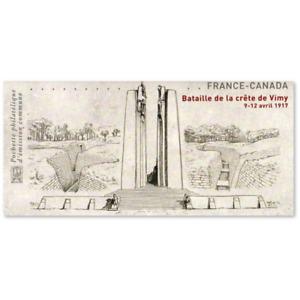 EMISSION COMMUNE (2017) CANADA : bataille de la crête de Vimy 1917