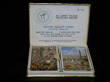Vintage Piatnik Vienna Playing Cards St. James Place & Trafalgar Square Sealed