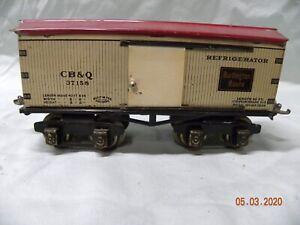 Ives 37156 CB & Q Burlington Route O Gauge Herald Car
