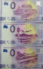 0 Euro Schein  - Anniversary Edition Miniatur Wunderland Hamburg Souvenir im Set