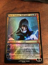 Darth Sidious Lord Magic The Gathering MTG card Planeswalker Star Wars Sith