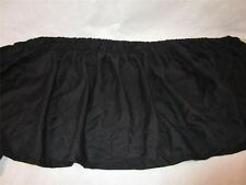 Adjustable Bed Skirt Twin / Full Black