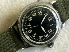 1945 Elgin Military A-11 AF US ARMY AF44 AIR FORCE  WW2 HACK ORIGINAL DIAL RUNS