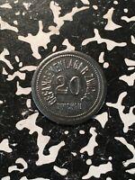 U/D Germany Zwickau 20 Pf. P.O.W. Camp Notgeld Token (1 Coin Only)