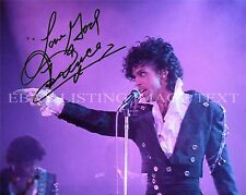 PRINCE SIGNED AUTOGRAPH 8X10 RP PHOTO PURPLE RAIN THE REVOLUTION