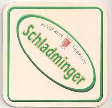 """Schladminger Bier - Bierdeckel """"Naturrein gebraut"""""""