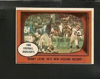 2859* 1961 Topps # 113 Bobby Lane Highlights NM-MT