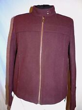 TOMMY HILFIGER SMART DESIGNER ITALIAN ROSEWOOD RED SHORT JACKET M