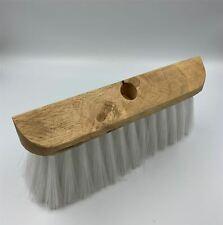 Universal Wooden Garden Gutter Lawn Sweeper Brush Broom Head