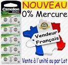 Piles bouton 0% Mercure - Type AG13 LR44 LR1154 357 LR41 LR43 LR54 LR66 1,5V