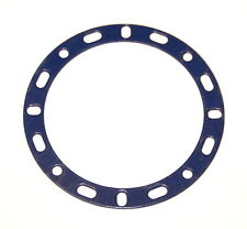 "Meccano Part 274b Narrow Circular Strip 3 3/8"" Diameter Blue"