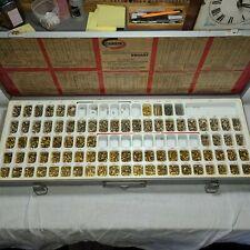 Huge Corbin Emhart Nos Brass Key Lock Rekeying Pinning Locksmith Pin Set Kit