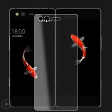 Full Covered Tempered Glass Screen Protector Front + Back For ZTE Axon M NEW