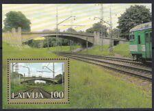 MNH Latvia stamps - Bridge 2005, Souvenire sheet, Mi.Nr. Bl.20