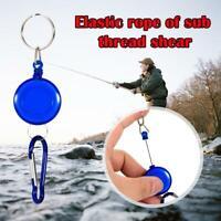 Fly Fishing Retractor Tools Extractor Keeper Tether Retractable Keychain Reel