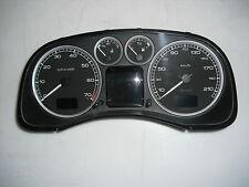 Peugeot 307 SW 1.6 16V 01.03 Tacho Kombiinstrument P9645768580  158Tkm