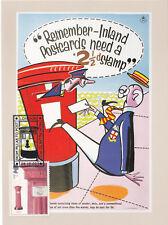 (23323) GB Postcard FDC Pillar to Post Inland Postcards London 8 October 2002