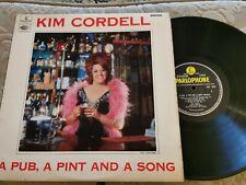 Kim Cordell - A Pub A Pint And A - PMC 7015 - vinyl LP EX/EX CONDITION LP. T3