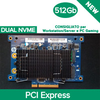 HP SSD DUAL 512GB M.2 NVME Z Turbo Drive TLC (Z4 / Z6 / Z8 G4) PCI Express