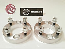 "StreetRays 1"" Thick 4x4"" Wheel Spacers EZ Go Golf Carts Club Cars 1/2""x20 (PAIR)"