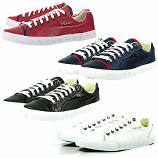 PUMA 100% Leather Lace-up Casual Shoes for Men