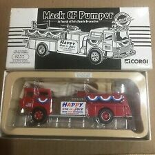 Corgi US52006 Mack CF Pumper 2001 4th of July Decoration Limited Edition 1/50
