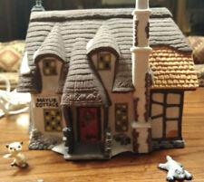 Dept 56 Dickens Village Oliver Twist Maylie Cottage #5553-0 + added figures