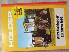 Original Holder Prospekt Cultitrac A60