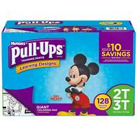 Huggies Pull-Ups Plus Training Pants Diapers for Boys Size 12M-2T-3T-4T-5T