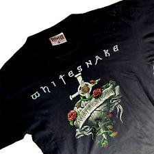 New listing Whitesnake 1997 Restless Heart World Tour T Shirt Xl Black Hard Rock Heavy Metal