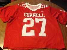 Nike Cornell big red sublimated mens large lacrosse jersey nwt