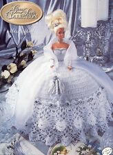 Miss April Gems of the South Outfit for Barbie Doll Annie's Crochet Pattern NEW