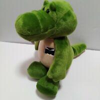 Crocodile Plush Stuffed Animal Mueller Industries Advertising Alligator Green