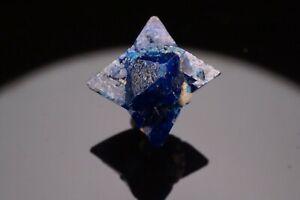 CLASSIC Cumengeite Crystal Twin on Boleite AMELIA MINE, MEXICO