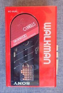 Walkman Sony WM-24, tragbarer Kassetten-Spieler