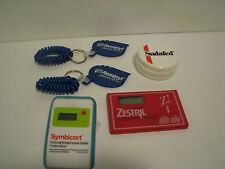 LOT OF  5  PHARMACEUTICAL REP. ITEMS  4 REP ITEM 1 SUDAFED CUP