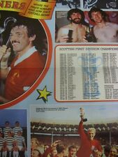 1981/1982 Shoot: All Time Winners Poster - Where The Major Honours Have Gone Sin