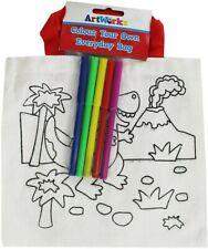 Colour Your Own Everyday Bag - Dinosaur
