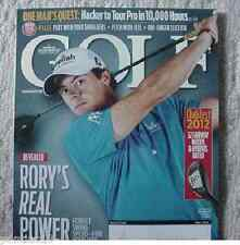 Golf Magazine Rory McIlroy - Rory's Real Power Move Revealed May 2012 Sports