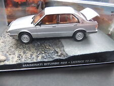 Maserati Biturbo 425 .  007 James Bond  .. 1:43 .. #510 . Lizenz zun Töten