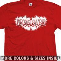Free Bird Fist Knuckle Tattoo Lynyrd Skynyrd T-Shirt