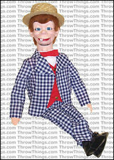 Mortimer Snerd Deluxe Upgrade Ventriloquist Dummy With Moving Eyes - Quality!