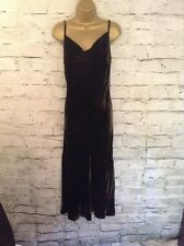 Phase Eight Ladies Dark Green Silk Mix Velvet Maxi Dress & Cardigan UK 10 US 6