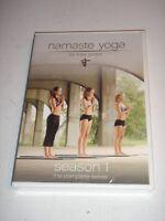 NAMASTE YOGA The Complete First Season Series SEASON 1 by Kate Potter DVD NEW