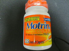 NEW MOTRIN ( 225 COUNT ) COATED CAPLETS~EXP 08/2018 & UP  ~FREE USA SHIPPING!