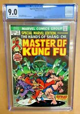 Special Marvel Edition #15 CGC 9.0 1973 1st appearance of Shang Chi