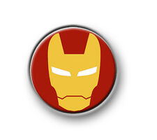 "IRON MAN / 1"" / 25mm pin button / badge / Marvel / Hulk / Thor / Captain America"